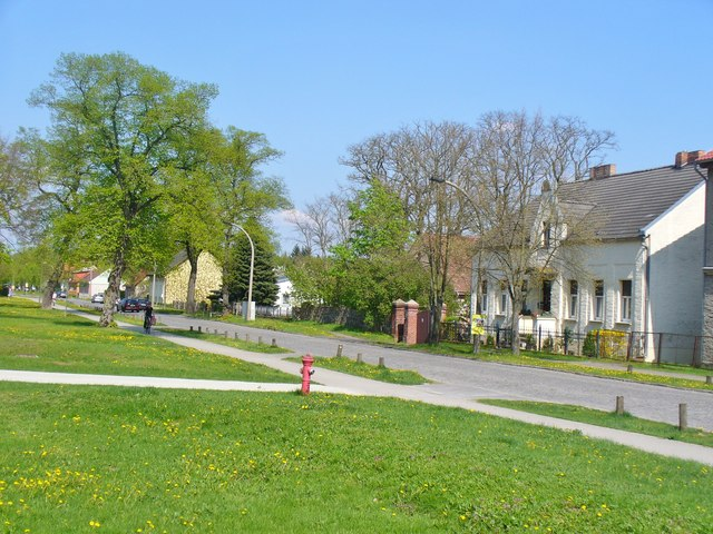Dahlwitz - Angerdorf (Village Green Settlement)