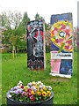 UUU8408 : Teltow - Mauerreste (Berlin Wall Remains) von Colin Smith