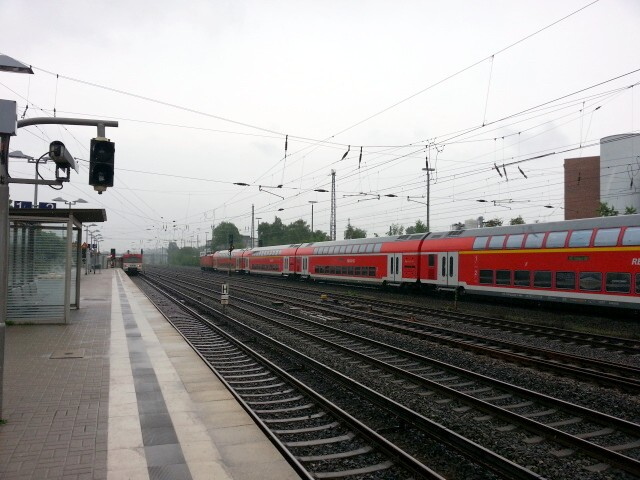 Eidelstedt station - view southeast