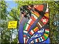 UUU8607 : Berliner Mauerreste (Berlin Wall Slab) von Colin Smith