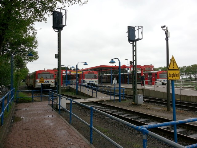 The many trains of Ulzburg Sued