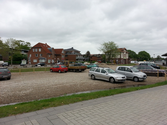 Station car park - Kaltenkirchen station