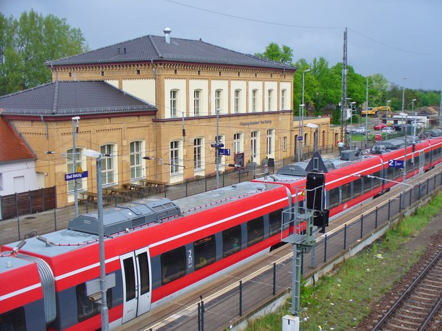 Bahnhof Bad Belzig (Bad Belzig Railway Station)
