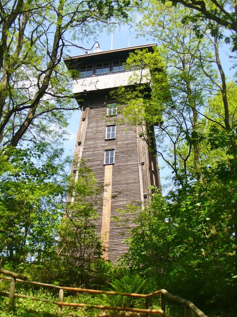Kranichsberge - Turm (Kranichsberg - Look-out Tower)