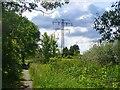 UUU7328 : Eiskeller - Wanderweg und Grenze (Footpath and Boundary) von Colin Smith