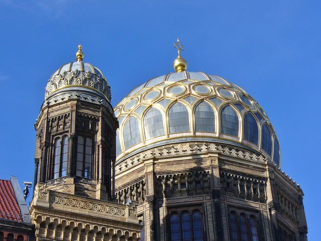 Berlin - Kuppel der Neue Synagoge (New Synagogue Dome)