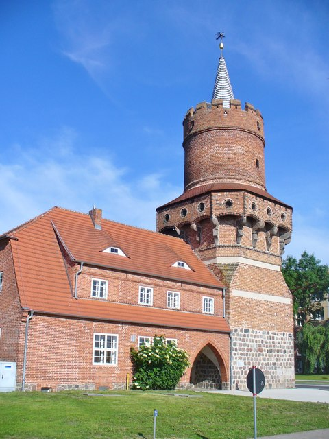 Prenzlau - Mitteltorturm (Central Gate Tower)