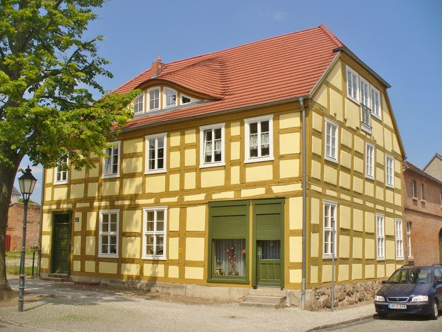 Angermuende - Fachwerkhaus (Timber-framed House)