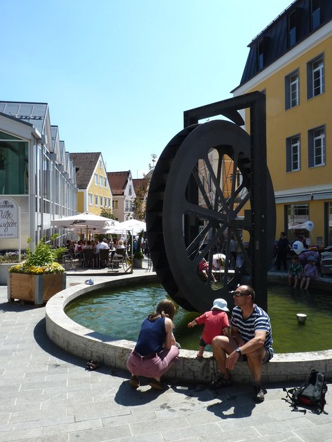 Wassermühlerad (Watermill wheel)