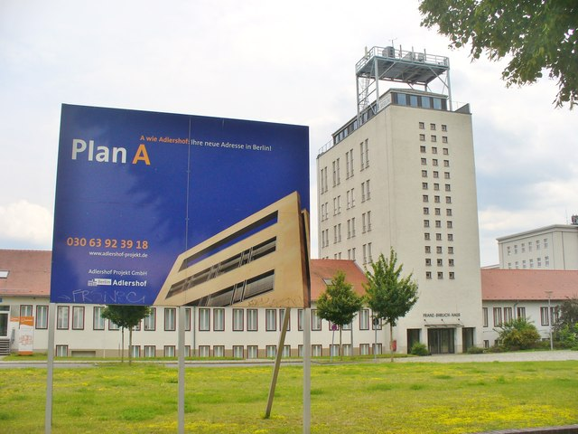 Adlershof - Plan A