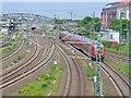 UUU9123 : Regionalbahnzug bei Gesundbrunnen (Regional Train by Gesundbrunnen) von Colin Smith