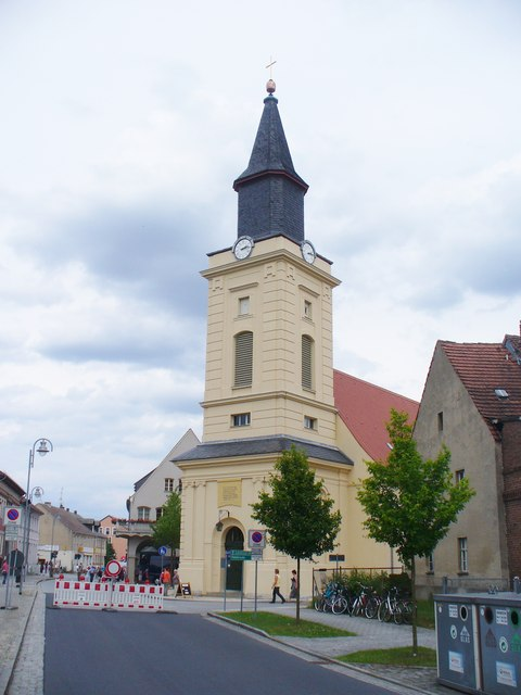 Trebbin - Stadtkirche St Marien (St Mary's Church)