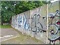 UUU9021 : Berliner Mauer - Bergstrasse (Berlin Wall - Bergstrasse) von Colin Smith