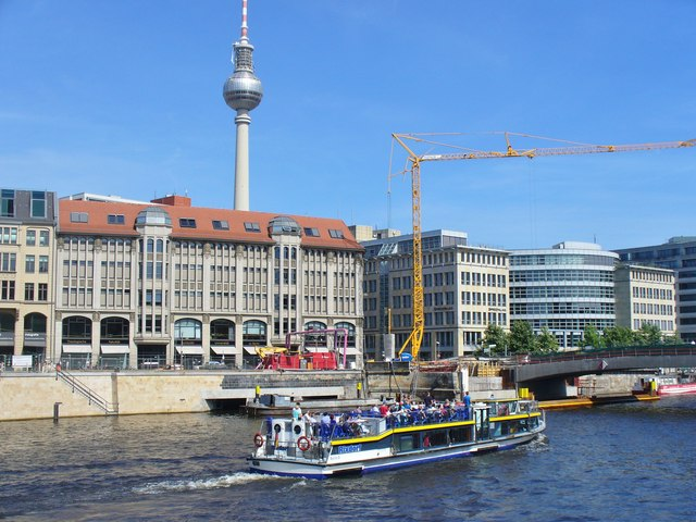 Berlin - die Spree (Berlin - River Spree)