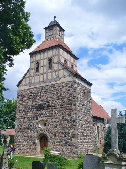 Wildenbruch - Turm der Dorfkirche (Village Church Tower)