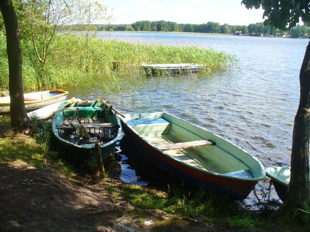 Seddiner See - Anlegestelle (Seddin Lake - Moorings)