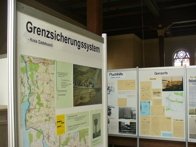 Fuerstenberg/Havel - BRD/DDR Grenzenausstellung (East/West German Border Exhibition)