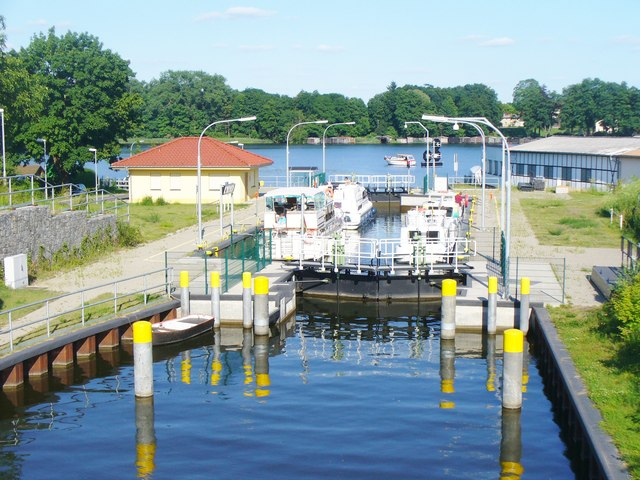 Fuerstenberg/Havel - Schleusenblick (Lock View)