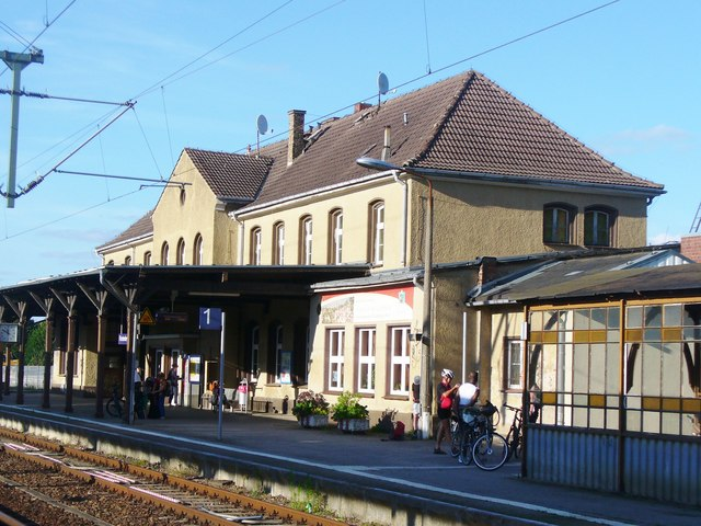 Fuerstenberg/Havel - Bahnhof (Railway Station)
