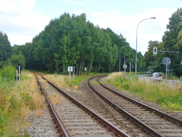 Neuruppin - Eisenbahngabelung (Railway Junction)