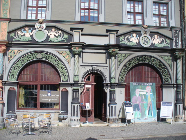 Weimar - Theater im Gewoelbe (Vaults Theatre)