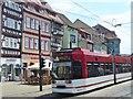 UPB4249 : Erfurt - Tram am Domplatz (Tram on Cathedral Square) von Colin Smith