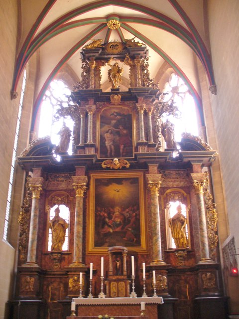 Erfurt - St Severikirche Hochaltar (St Severus Church High Altar)