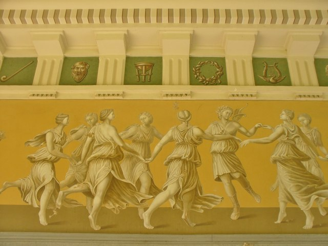Park an der Ilm - Römisches Haus - Fries (Roman House - Frieze)