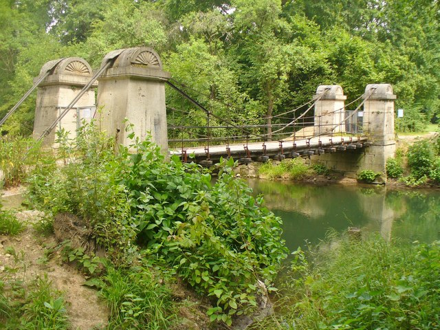 Weimar - Schaukelbrücke (Shaking Bridge)