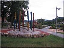 Lügde - Spielplatz im Emmerauenpark