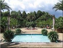 Bad Pyrmont - Palmengarten im Kurpark