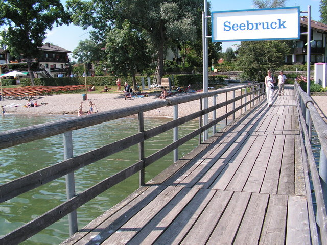 Anlegestelle Seebruck am Chiemsee