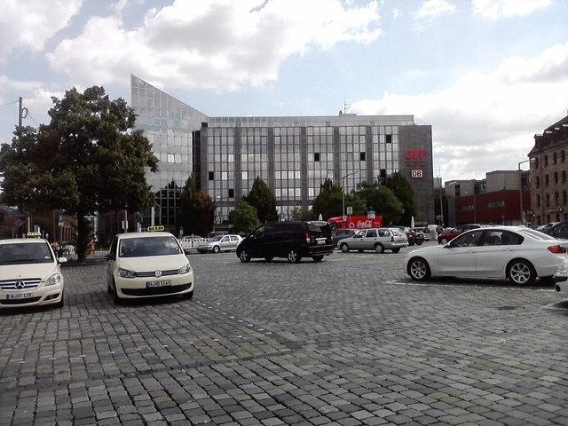 Parkplatz Nürnberg Hauptbahnhof