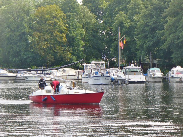 Unterwegs auf der Havel (Underway on the River Havel)