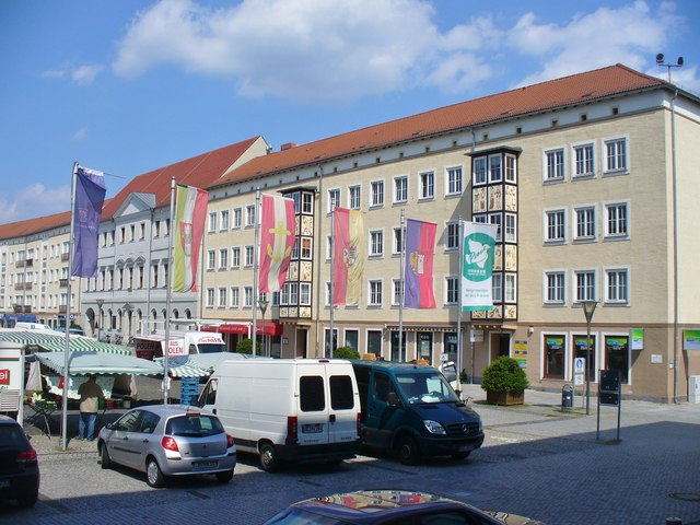 dessau markt mgrs 33uut1046 geograph deutschland. Black Bedroom Furniture Sets. Home Design Ideas