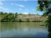 Der Neckar beim Max-Eyth-Steg