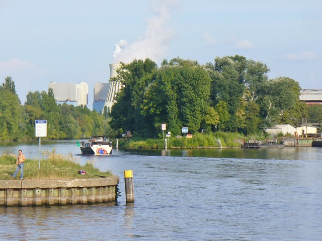 Spandau - Spreemuendung (Mouth of the River Spree)