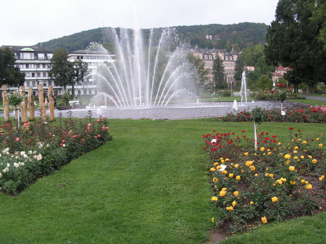 Bad Kissingen, Rosengarten