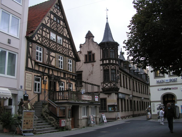 Bad Kissingen, historische Gebäude