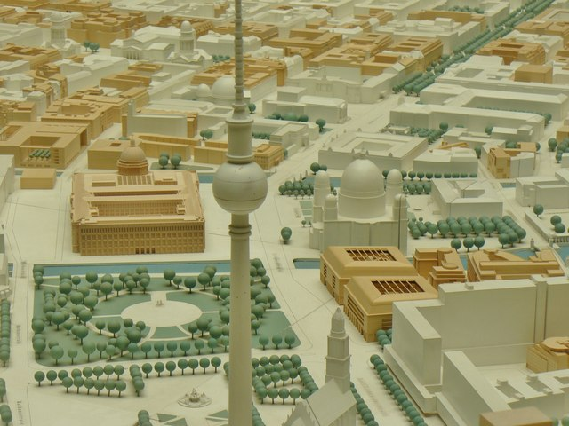 Berlin - Stadtmodelle (City Models)