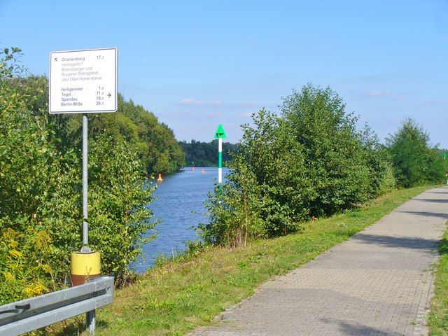 Nieder Neuendorf - Havelradweg (Havel Cycle Way)