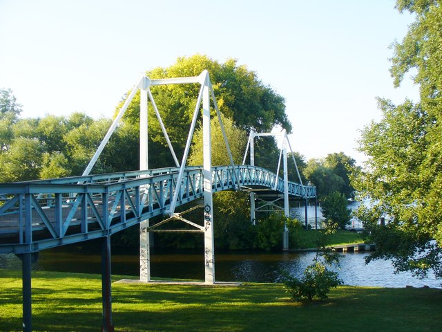 Hakenfelde - Oberhavelsteg (Upper Havel Footbridge)