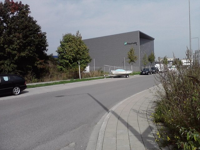 Röntgenhalle des Fraunhofer Instituts