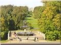 UUU6607 : Schlosspark Sans Souci - Sichtachse (Sans Souci Palace Park - Line of Sight) von Colin Smith