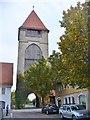 UNV5805 : Schwäbisch Gmünd - Rinderbacher Torturm (Rinderbach Gate Tower) von Colin Smith
