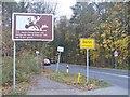 UUU8435 : Frohnau - Ortseingang Berlin (Entering Berlin) von Colin Smith