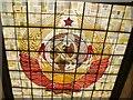 UUU8926 : Schönholzer Heide - Sowjetisches Ehrenmal - Glasdach (Soviet Memorial - Glass Roof) von Colin Smith