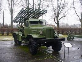 Katjuscha Raketenwerfer Stalinorgel Katyusha Rocket