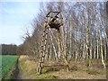 UUU7419 : Hahneberg - Hochsitz (Shooting Box) von Colin Smith