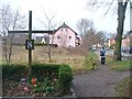 UUU7421 : Staaken - Dieter-Wohlfahrt-Denkmal (Dieter Wohlfahrt Memorial) von Colin Smith